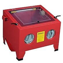 25 Gallon Bench Top Sandblast Cabinet Air Sand Blaster Sand Blast by JDM Auto Lights