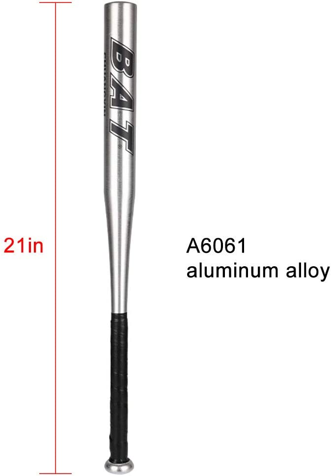 zimo Aluminum Alloy Baseball Bat Stick Softball Bat Tee Ball Bat for Youth Adults Outdoor Sports Professional//Training