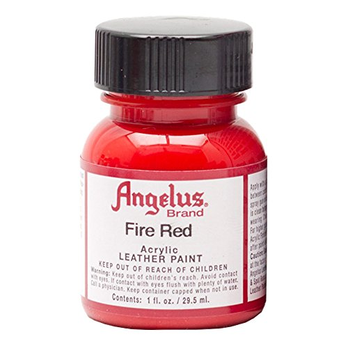 Angelus Leather Paint Fire Red