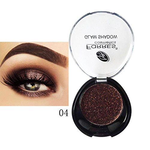 - LiPing Matte Palette Shiny Diamond Eye Shadow Dust Powder Flash Party Cosmetic/Magic Finish to Apply and Grace Your Face Eye Shadow Pigment for Women (D)