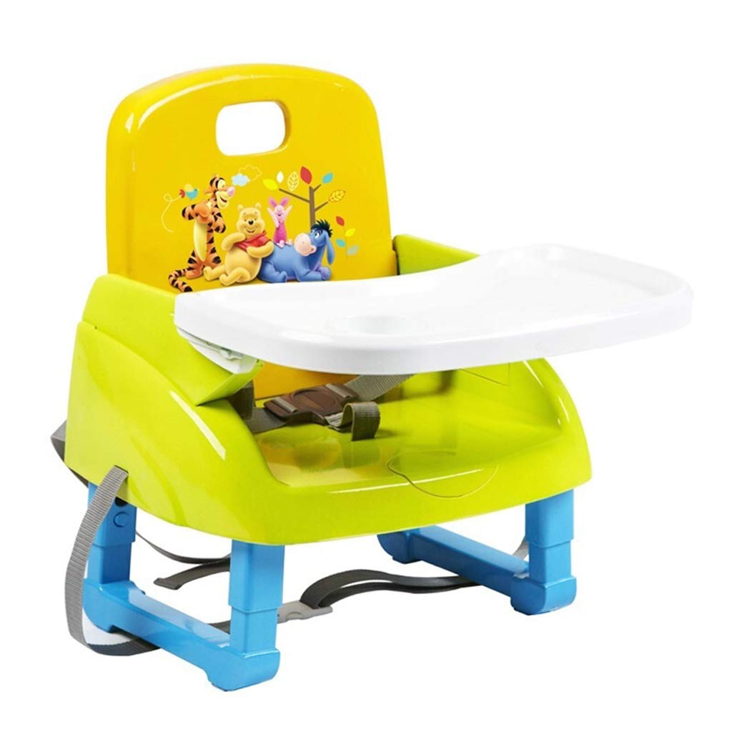 BLWX- Sedia da Pranzo per Bambini Booster Seat Sedia da Pranzo per Bambini Che Aumenta la Sedia da Pranzo per Bambini Fissa nella Sedia per Adulti. Bambini Che mangiano Sedia da Pranzo Sedia da pranz