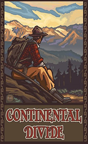 northwest-art-mall-pal-4946-mhm-continental-divide-mountain-hiker-man-print-by-artist-paul-a-lanquis