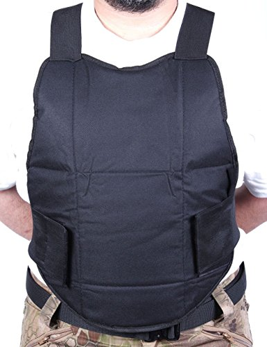 VIVOI Chest Protector - Padded Chest Protection for Paintball & Airsoft - Tactical Vest Body Armor Perfect for Outdoor Sports with Extra Padding for Professional - Chest Armor Body