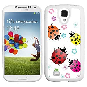 One Tough Shield ? Hard Cover phone Case for Samsung Galaxy S-IV S4 - (Ladybugs) by lolosakes