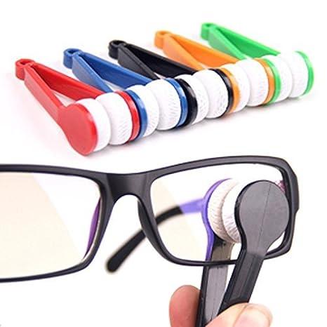Cepillo limpiador de gafas de sol o de ver, rojo, de Ma-On ...