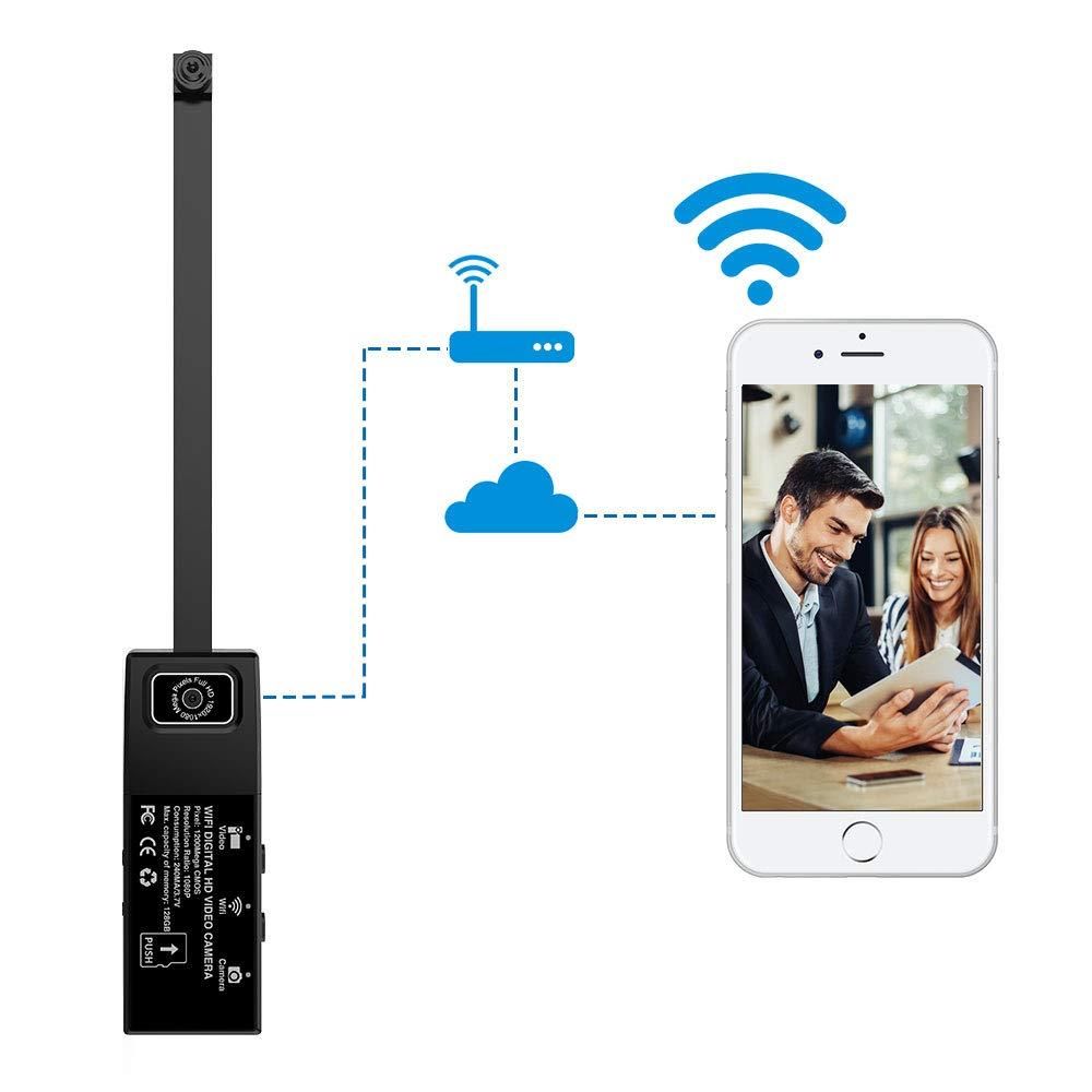 TOPmountain C/ámara IP WiFi C/ámara WiFi C/ámara Multifuncional 1080 P Visi/ón Nocturna Detecci/ón De Movimiento C/ámara De Vigilancia