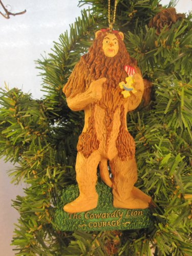 The Wizard of Oz... Cowardly Lion Ornament ()