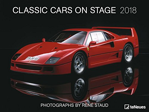 Classic Cars on stage 2018 - Autokalender, Posterkalender, Wandkalender  -  64 x 48 cm