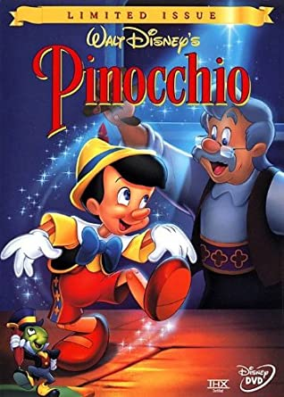 pinocchio disney gold classic collection
