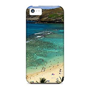Special Estebanrivera-11 Skin Case Cover For Iphone 5c, Popular Amazing Beaches Phone Case