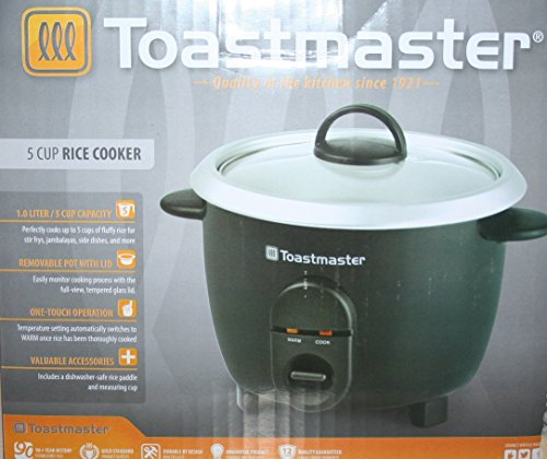 Toastmaster 5 Cup Rice Cooker