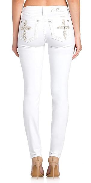Amazon.com: Miss Me - Pantalones vaqueros de mujer con ...
