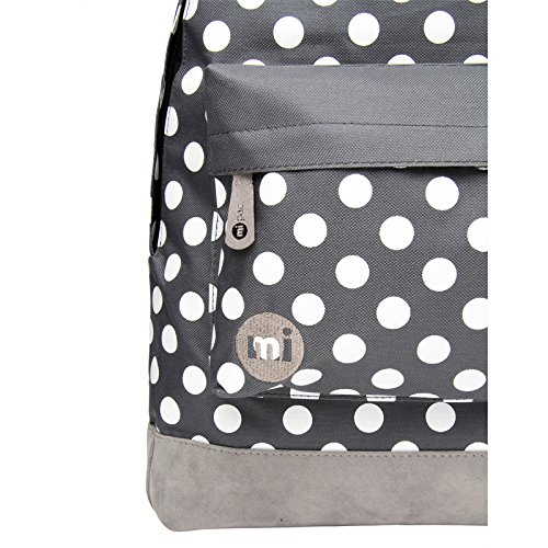 Bag Dots Pac amp; Girls Quality Resistant for White Polka Men Rucksack Mi amp; Boys Travel Backpack Women Daypack Water Rose Bag Or 17L Laptop Charcoal Ideal School zZZqOSd