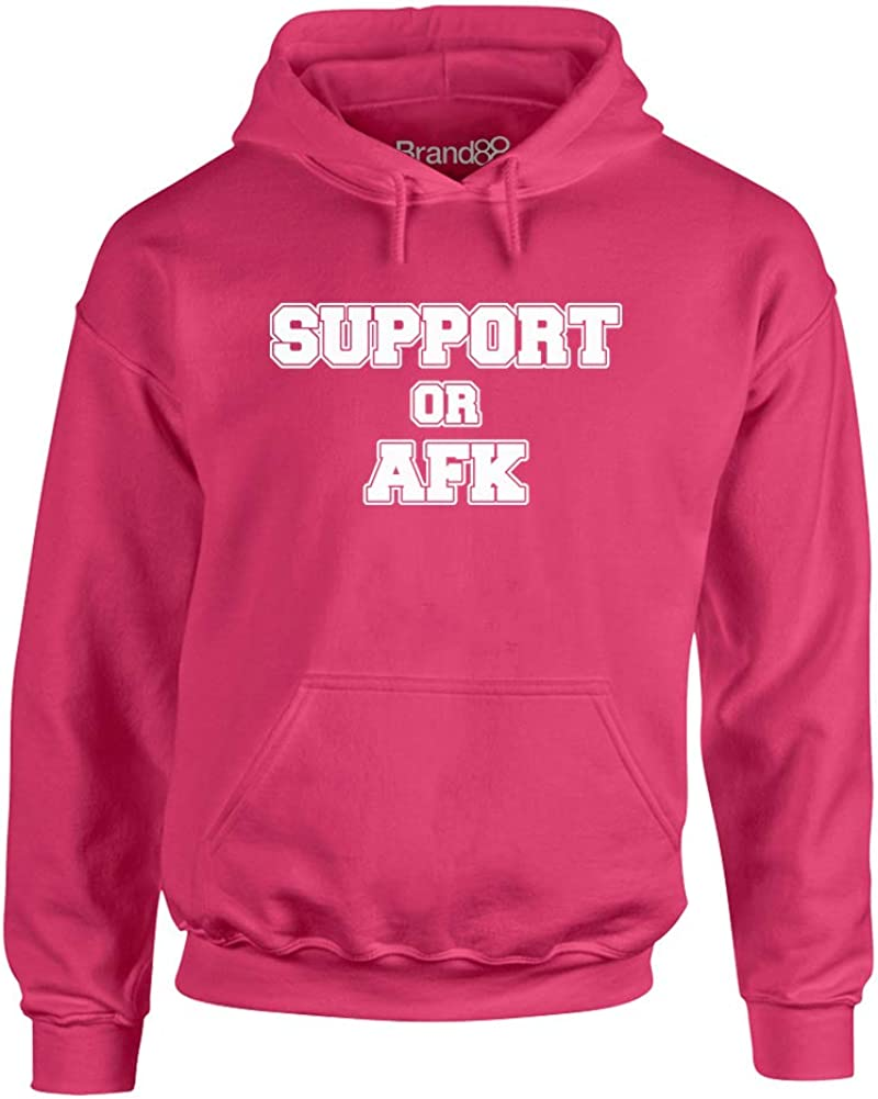 Adults Hoodie Brand88 Support Or AFK