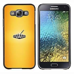 Qstar Arte & diseño plástico duro Fundas Cover Cubre Hard Case Cover para Samsung Galaxy E5 E500 (Stromtrooper Legión)