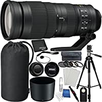 Nikon AF-S NIKKOR 200-500mm f/5.6E ED VR Lens Bundle For Nikon D7200, D7100, D3400, D3300, D3200, D3000, D5500, D5300, D5100, D5000, D750, D600, D90, D80, D70s, D70, D50, D40 with Mfr. Accessories