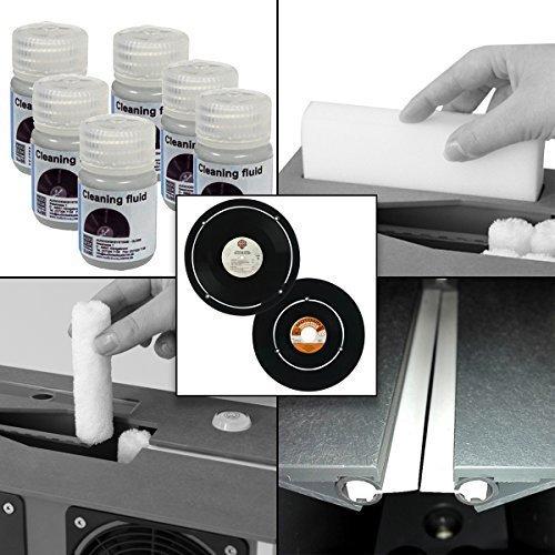 14 Piece Bundle for Audio Desk Systeme Ultrasonic Vinyl, Rec