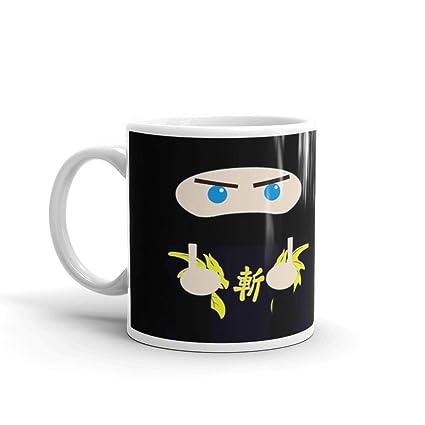 Amazon.com: Ninja Brian Solo Mug 11 Oz White Ceramic ...
