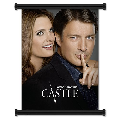 Castle TV Show Season 4 Fabric Wall Scroll Poster