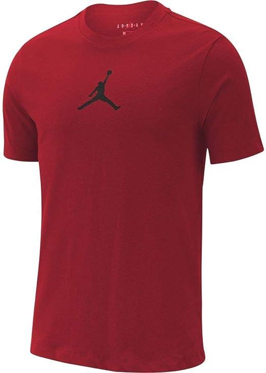 Jordan Jumpman Camiseta, Hombre, Gym Red/Black, XS: Amazon.es ...