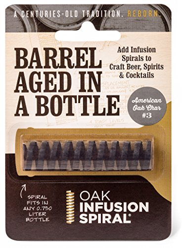 Oak Infusion Spiral Barrel Aged in a Bottle Oak Infusion Spiral