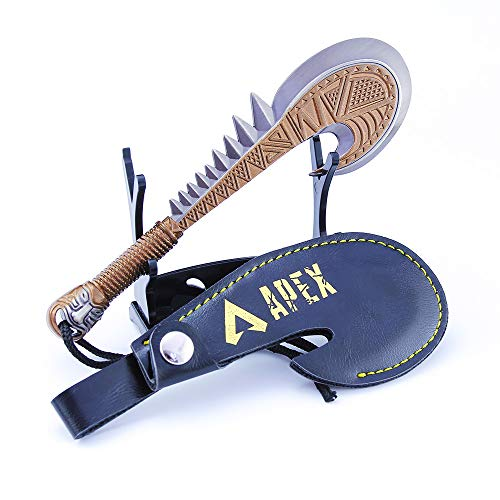 Longhe (NO Sharp) Gibraltar Dagger Alloy Model Weapon Metal Gun Toys Collection Keychain Crafts for Apex Legends Games