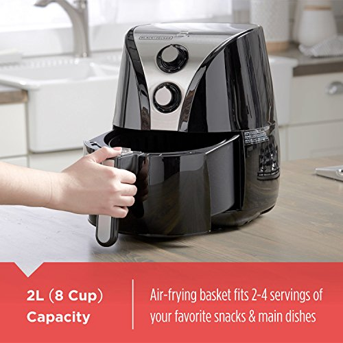 BLACK and DECKER HF110SBD 2-Liter Oil Free Air Fryer