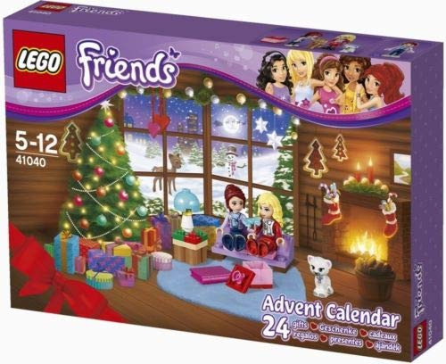 LEGO Friends 41040 Advent Calendar Minifigure Girls Xmas Gift Present NISB