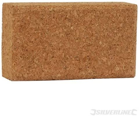 Power Tool Accessories Sanding Blocks Cork Sanding Block 110mm x 60mm x 30mm For use with abrasive paper for sanding by hand.