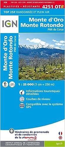 Télécharger en ligne 4251OTR MONTE D'ORO/MONTE ROTONDO (RESISTANTE) pdf