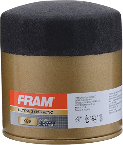FRAM XG2 ULTRA Spin-On Oil Filter with Sure Grip (2012 Dodge Charger Oil Filter)