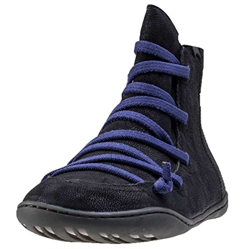 Womens Cami Shoe (Camper Women's Peu Cami Bootie Flat, Black, 38 EU/8 M US)