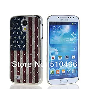 ModernGut New Luxury Star Pattern Shiny Bling Crystal Plated Hard Back Case Cover + Screen Protector For Samsung Galaxy S4 I9500