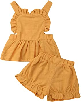 Toddler Baby Girls One Piece Lace Vest Slip Tank Top Sleeveless Blouse Clothes