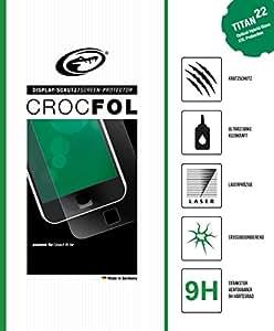 Crocfol Stardust oro (2 Folien) para Apple - apropiado para iPhone 5, iPhone 5S