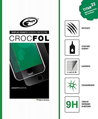 CROCFOL TITAN 5K HD OPTICAL HYBRID GLASS für das i-INN Smartlet. Ultra Kratzschutz (9H) und stoßabsorbierend (SHOCK-PROOF). 3D Touch Glasfolie für das Original i-INN Smartlet. Hergestellt in Deutschland.
