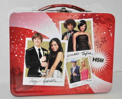 High School Musical Lunch Box - High School Musical Tin Lunch Box, Assorted Scenes