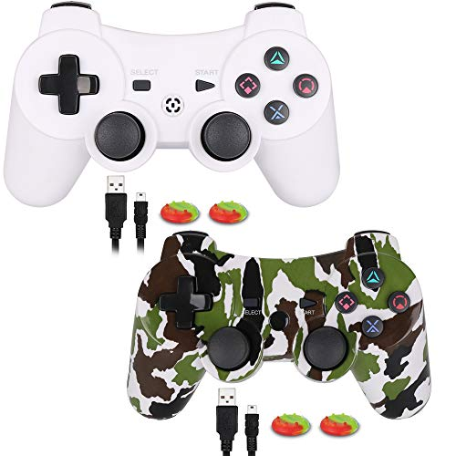 Game-Controller-for-PS3Wireless-Gaming-Controller-Double-Vibration-Game-Controller-with-Upgrade-Sixaxis-and-High-Precision-Joystick-for-Playstation-3