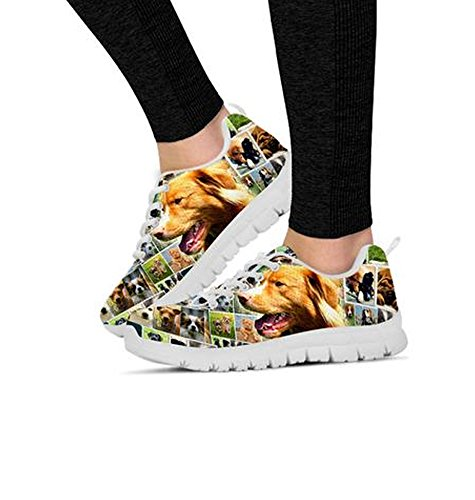 Nova Print Your Dog Chose Sneakers Custom Scotia Breed amp; Shoes q8wZO