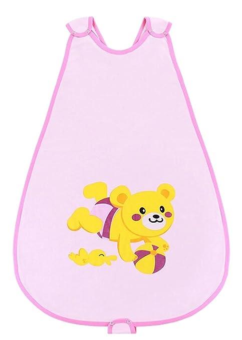 Chaleco Estilo saco de dormir manta para bebé dormir swaddle manta oso rosa