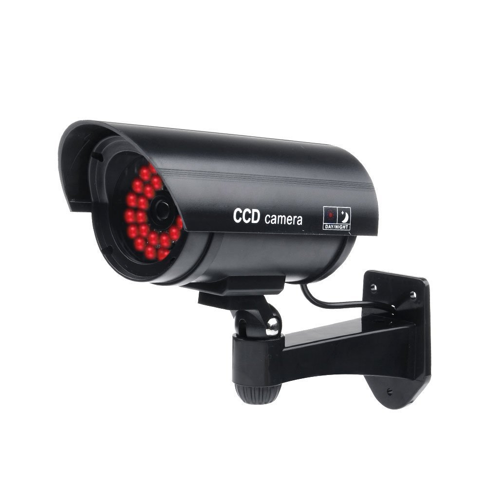 高価値セリー SODIAL CCTV監視 ( R )屋外フェイク/ダミーセキュリティカメラwith SODIAL 30 Illuminating LEDライト(ブラック) 30 CCTV監視 B01MV484GD, 輝ショップ:fa720aea --- a0267596.xsph.ru