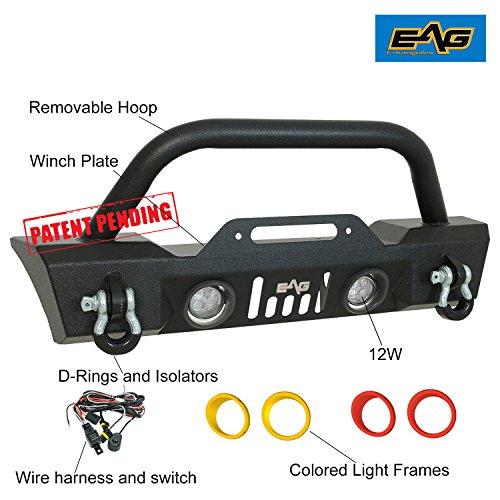 EAG 87-06 지프 랭글러 TJ YJ LED 조명과 컬러 라이트 서라운드..
