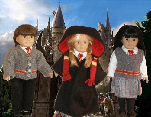 Harry Potter Knitting Pattern for 18 inch dolls