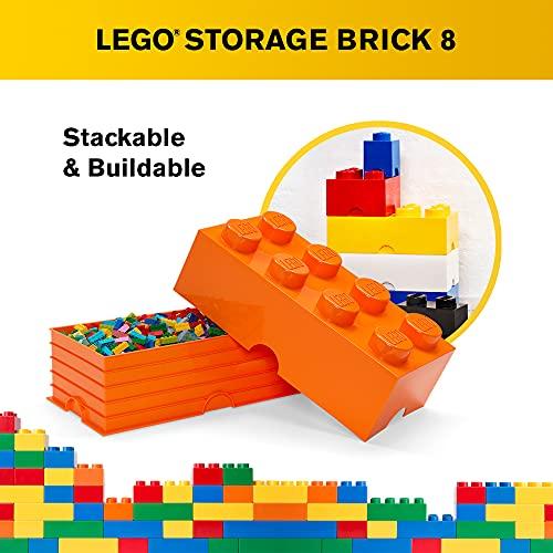 Room Copenhagen 8 LEGO Brick Box, Bright Orange (40040660)