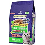 キャラット キャットフード ミックス 11歳からの高齢猫用+毛玉をおそうじ 2.7kg