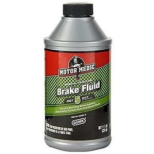 Motor Medic by Gunk M4011/12 DOT 5 Brake Fluid - 11 oz.