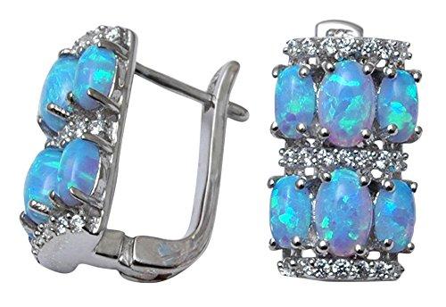 Banithani 925 Solid Silver Beautiful Stud Earrings Set Fashion Women Jewelry