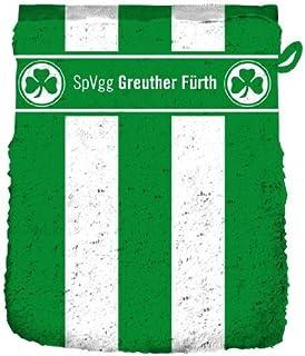 Bertels Greuther F/ürth Duschtuch Blockstreifen