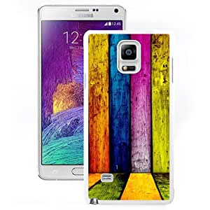 New Beautiful Custom Designed Cover Case For Samsung Galaxy Note 4 N910A N910T N910P N910V N910R4 With Rainbow Panel (2) Phone Case