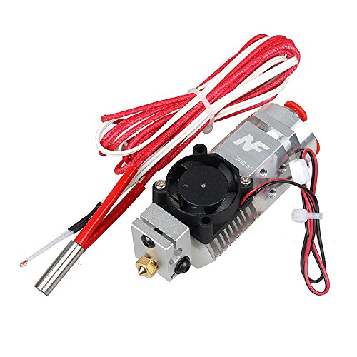 2017 Newest 3D Printer 3 in 1 out Multi-color Extruder Three Colors Switching Hotend, Compatible Titan / Bulldog Bowden Extruder, 1.75mm